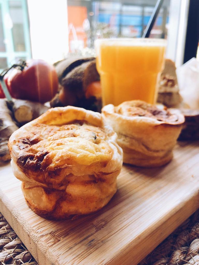 Kersvers muffins jus