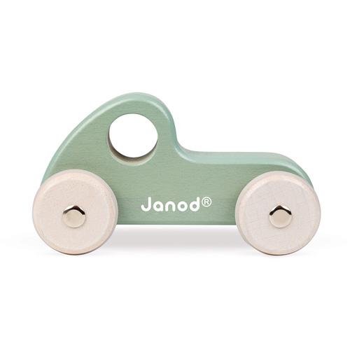 Janod speelgoed sportauto groen