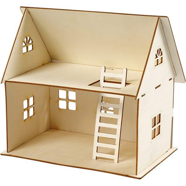 houten poppenhuis DIY