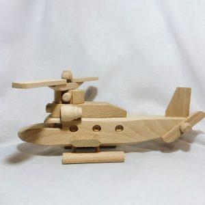 Houten speelgoed helikopter